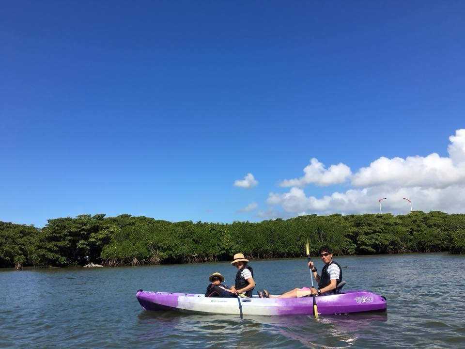 マングローブカヌー&SUP|石垣島の青空と