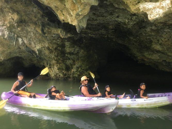 マングローブカヌーでサンゴ岩の洞窟|石垣島ガイドCHORO