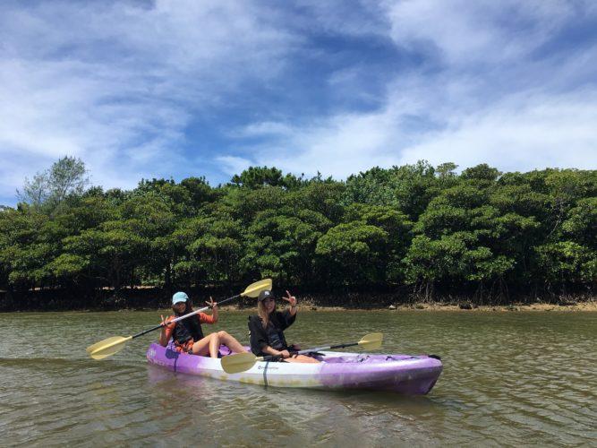 石垣島のおすすめアクティビティ、マングローブカヌー