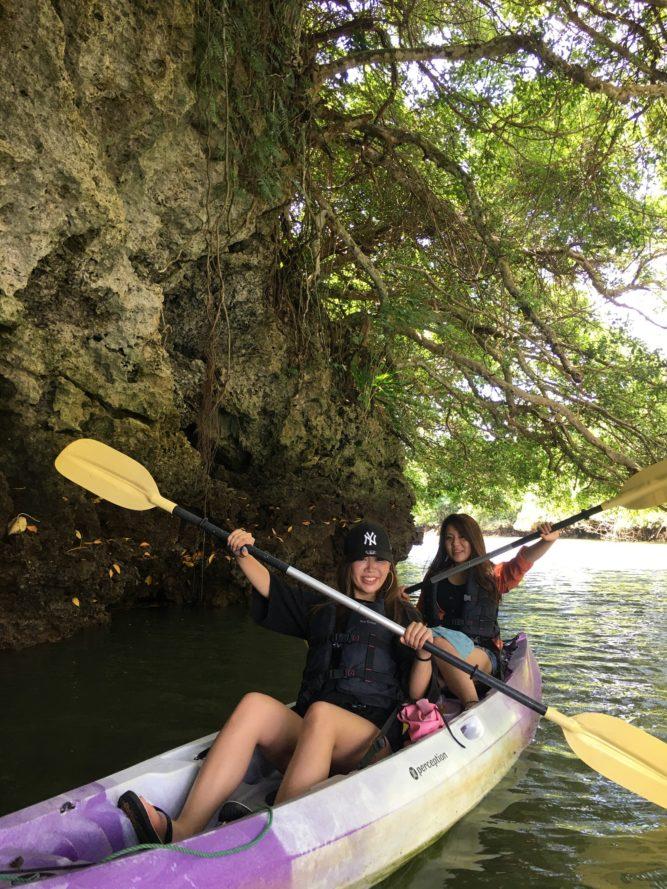 女子二人でも楽しい石垣島のマングローブカヌー