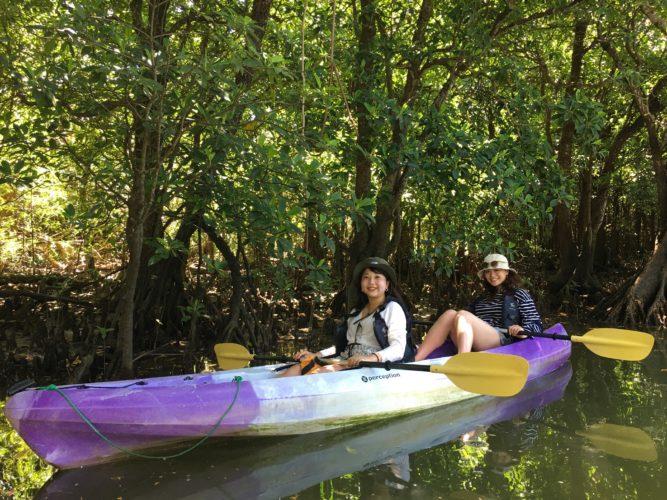 マングローブカヌーで石垣島で大冒険