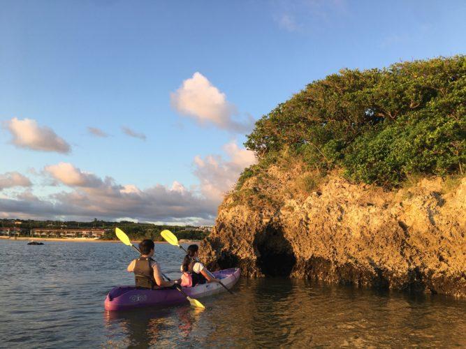 海に出てカヤックから石垣島のサンゴを観よう