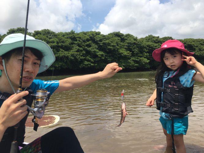 石垣島のマングローブジャック釣れました!