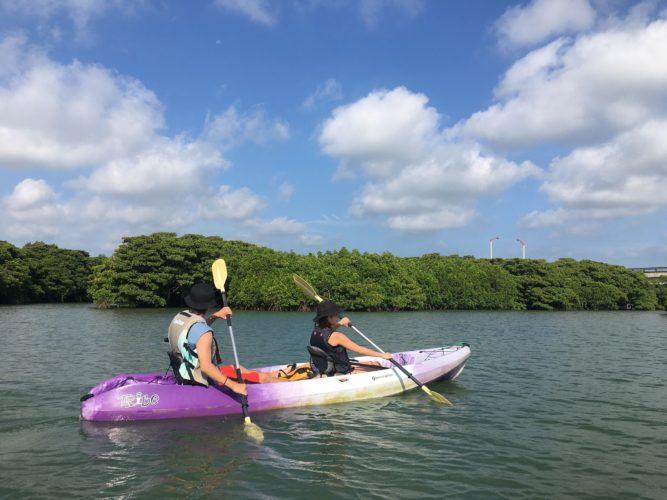 のんびりゆっくり楽しめるマングローブカヌー|石垣島のガイドCHORO