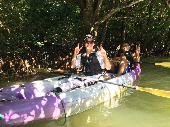 マングローブで石垣島の大自然を満喫 CHOROのカヌー