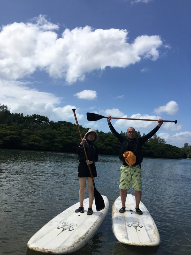 大人気のアクティビティ 石垣島でマングローブSUP