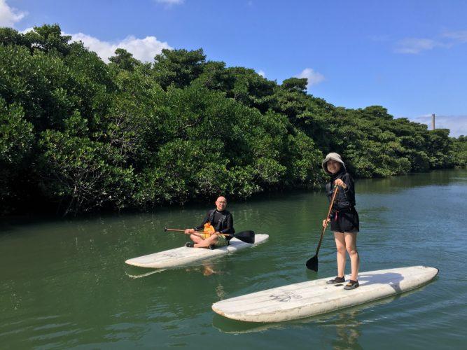 のんびりゆっくり楽しもう♪石垣島ガイドCHOROのマングローブSUP