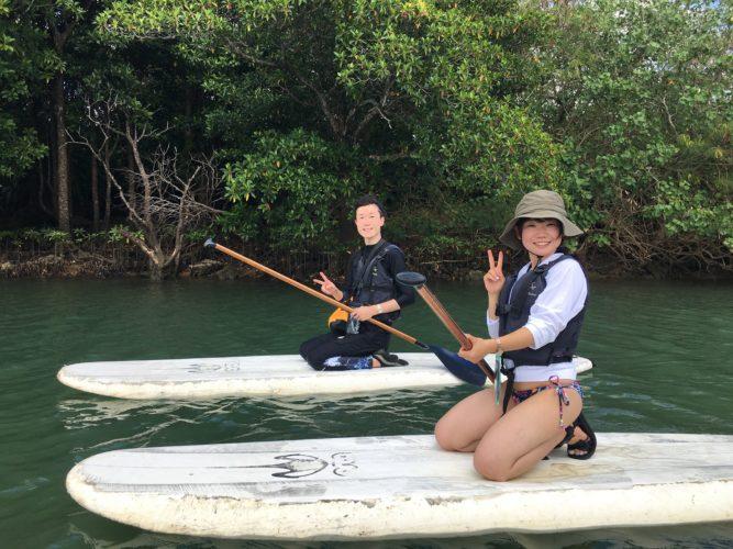 石垣島のマングローブSUP|石垣島ガイドCHORO