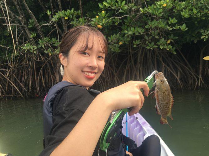 マングローブジャック、釣りました|石垣島ガイドCHORO