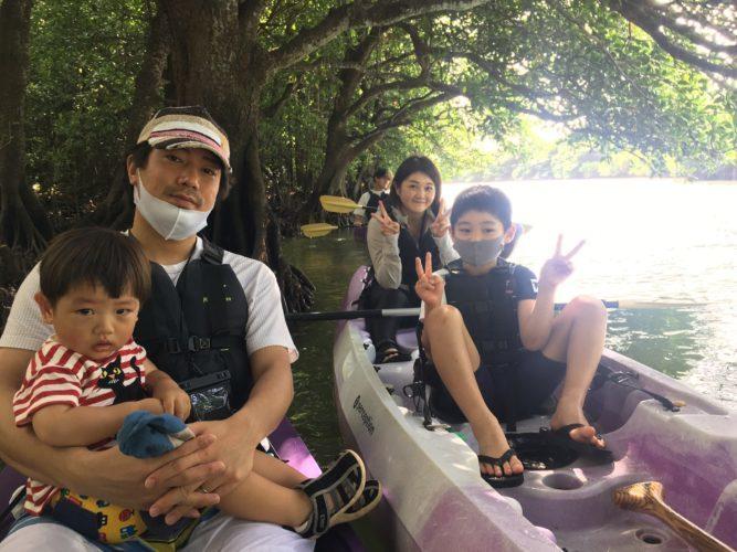親子みんなでマングローブカヌー|石垣島ガイドCHORO