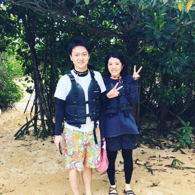 石垣島旅行でマングローブカヌーをしてきました