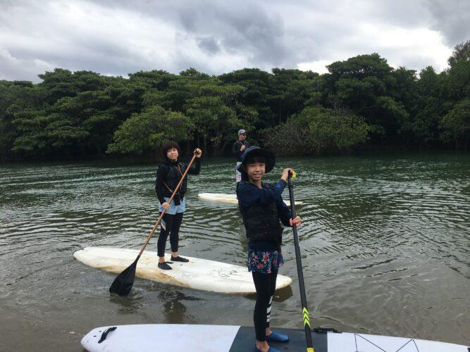 石垣島のマングローブでSUPを楽しみましょう!